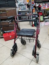 Walker/wheelchair w removable basket in Yucca Valley, California
