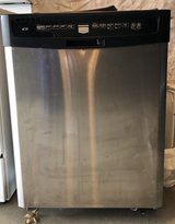 Maytag stainless steel dishwasher, will run but needs new control panel in Sugar Grove, Illinois