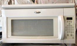 Whirlpool microwave, works perfectly in Sugar Grove, Illinois