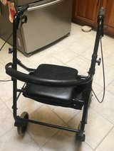 Sturdy Rolling Walker with Seat/Storage in Houston, Texas