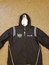 Mens White Sox jacket size L in Naperville, Illinois