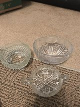 3 Crystal bowls in Tomball, Texas