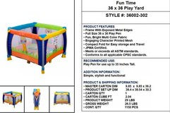 Play Time collection in Watertown, New York