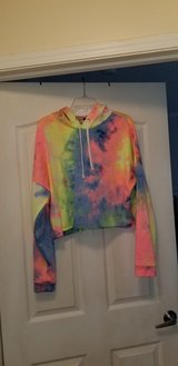 NEW Rue21 tie-dyed cropped hoodie in Camp Lejeune, North Carolina