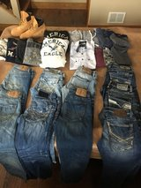 Buckle & American Eagle jeans and shirts in Tinley Park, Illinois