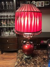 "Red Lamp 38"" Tall in Fort Knox, Kentucky"