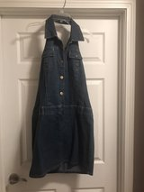 backless blue jean jumper in Fort Riley, Kansas