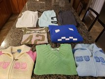 8 pieces Juniors winter tops and bottoms size Medium in Naperville, Illinois