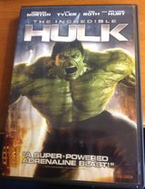The Incredible Hulk DVD in Fort Riley, Kansas