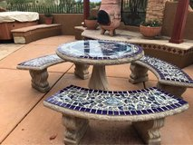concrete Patio Furniture in Davis-Monthan AFB, Arizona