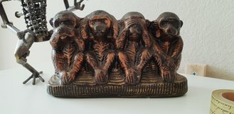 Do no Evil... The Missing Monkey Office/Desk/Shelf Decor  wise Monkeys in Spring, Texas