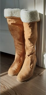 Super cute Suede leather Boots with wedges in CyFair, Texas