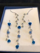 Blue Necklace and Ear Rings in Wiesbaden, GE