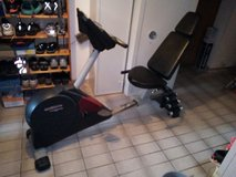 recumbent exercise bike + weight bench in one in Ramstein, Germany
