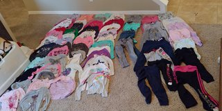 Girls Size M 7-8 64 Piece Clothing Lot in Houston, Texas