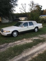 1996  Lincoln town car Cartier   Presidential series  very clean car never been smoked in  .. in DeRidder, Louisiana
