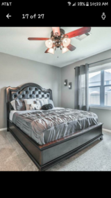 King Size Bed Frame (NO MATTRESS) in Kingwood, Texas