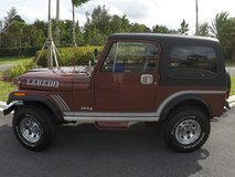 1985 Jeep CJ Laredo in Saint Petersburg, Florida
