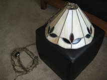 Tiffany style hanging Lamp in Yorkville, Illinois