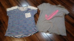 Girls Tops (Daytrip & Nike) SZ Large in Cleveland, Texas