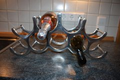 Pottery Barn Wine Holder Stainless Steel in Beale AFB, California
