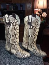 snake skin boots for small feet size 3 1/2 in Fort Leonard Wood, Missouri