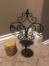 Metal candle sconce set in Wheaton, Illinois