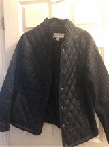 Ava and Vivi moto jacket, 1x, black in Naperville, Illinois