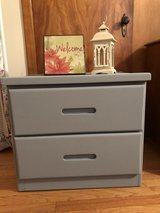 2 drawer side table/ dresser comes with decor included in Elgin, Illinois