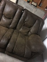 brown couch with recliners on both ends in Colorado Springs, Colorado