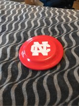 Red Frisbee (North Central College logo) in Chicago, Illinois