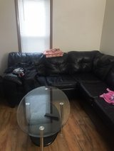 3piece front room glass table set in DeKalb, Illinois