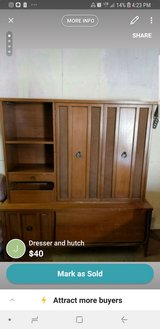 Dresser and Hutch in Yucca Valley, California