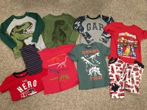 Boy's size 5/5T tops and pj LOT!! in Yorkville, Illinois