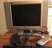 "Magnavox 15"" LCD HDTV Monitor with remote and manual in St. Charles, Illinois"