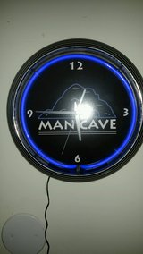 Man Cave clock in Westmont, Illinois