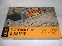 UCO Flatpack Grill and Fire Pit Portable Stainless Steel in Alamogordo, New Mexico