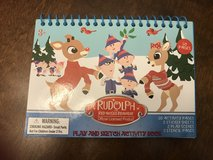 Brand New! Rudolph Activity Book in Oswego, Illinois