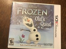 Reduced: Frozen Olaf's Quest Nintendo 3DS in Naperville, Illinois