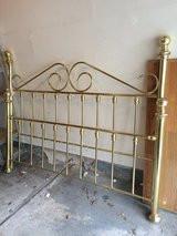 brass king size bed in Elgin, Illinois