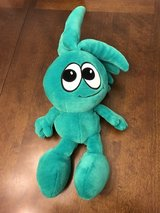 Green Plush Guy in Oswego, Illinois