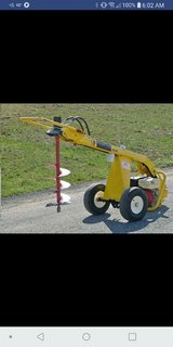 The groundhog auger will make digging holes extremely quick and easy!! in Fort Polk, Louisiana