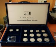 1990 Silver Coins From Soccer World Cup in Italy in Baumholder, GE