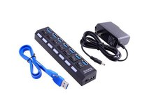 USB Hub 3.0 Super Speed 7 Ports W/Individual On/Off Switches in Clarksville, Tennessee