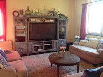 Entertainment Center cabinet shelves TV Couches DVD blu-ray PCS Moving SALE in Baumholder, GE