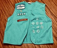 Girl Scout vest & patches in Naperville, Illinois