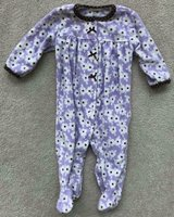 6/9 Month Fleece pjs in Elgin, Illinois