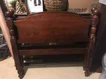 Cherry wood solid twin bed in Sandwich, Illinois