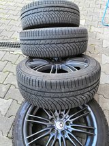5x114,3 / 235/45/18 Winter Tires on Lexus Rims for Toyota Camry or Lexus in Ramstein, Germany