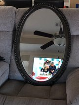 Large Oval mirror from kirklands in Fort Rucker, Alabama